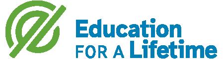 education for a lifetime logo