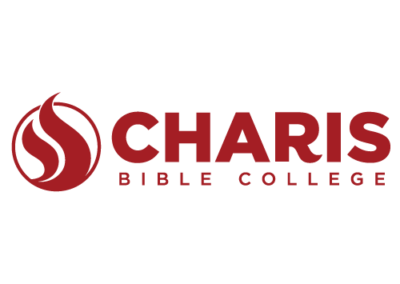 Charis Bible College Logo, Color, Standard