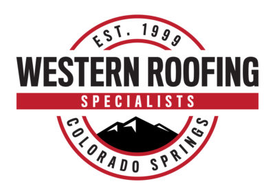 Western Roofing Logo, Color